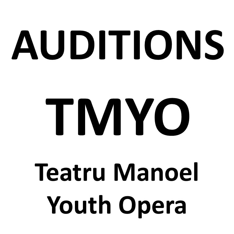 AUDITIONS: Teatru Manoel Youth Opera (TMYO)
